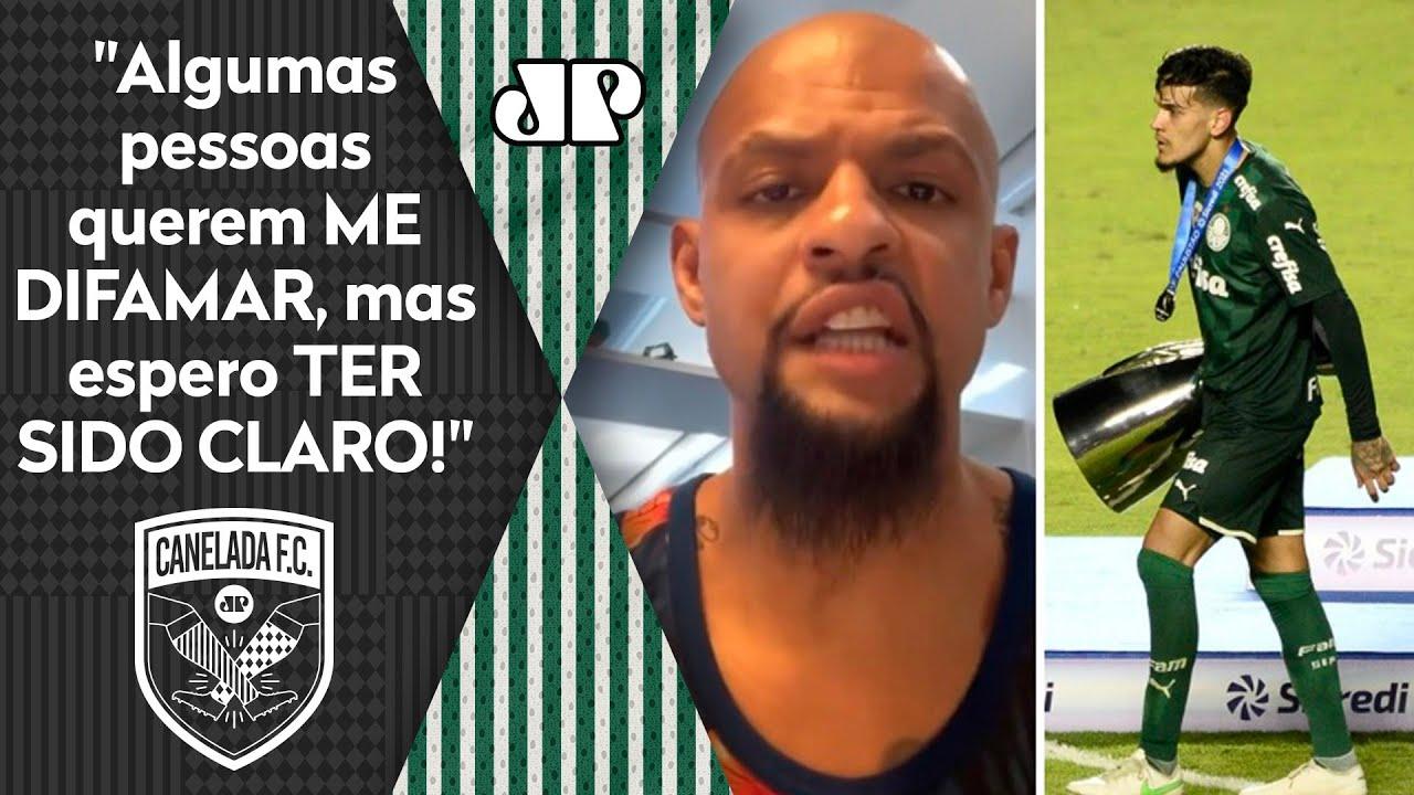Download DESABAFOU! Felipe Melo EXPLICA por que NÃO recebeu a taça de VICE do Palmeiras!