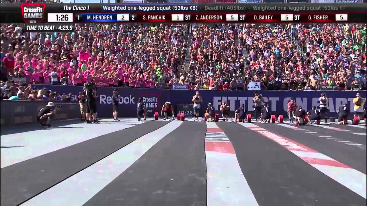 Reebok Crossfit Games 2013 M Final Event H3 Hd Youtube