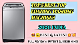 "Top 5 best ""top loading fully automatic washing machines"" 2019 in india full review & buyer guide"