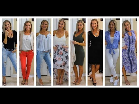 Lookbook Spring 2018 - Affordable Fashion - Outfit Ideas for Spring - Inexpensive Clothing