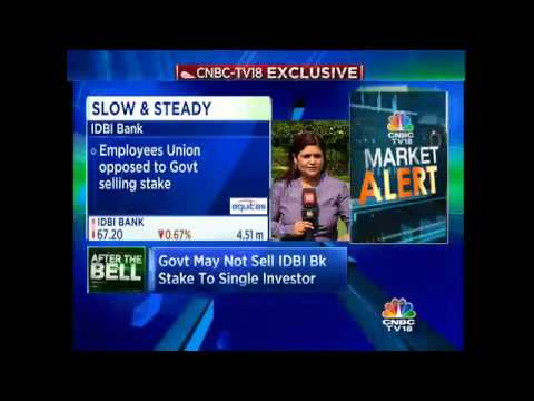 CNBC-TV18 Exclusive: Govt In No Hurry To Sell IDBI Bank Stake