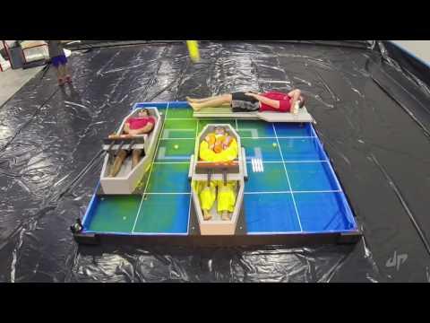 Игра в морской бой в реальной жизни