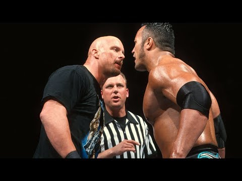 """Stone Cold"" Steve Austin & The Rock's championship clash at WrestleMania XV"