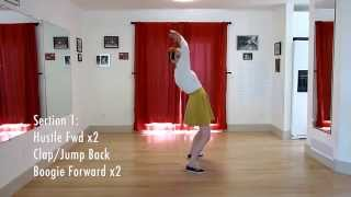 Learn The Jitterbug Stroll | Routine Breakdown | Level 4 Lesson 12 | Lindy Ladder
