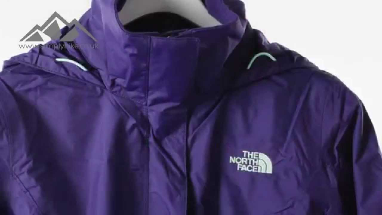 be8409329 The North Face Womens Resolve Jacket Garnet Purple - www.simplyhike.co.uk