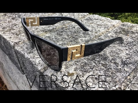 Versace Sunglasses Unboxing and Review - Are they worth $250?!