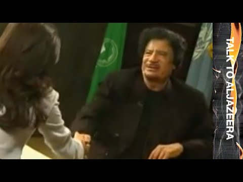 Muammar Gaddafi - Talk to Jazeera - 25 Sep 09