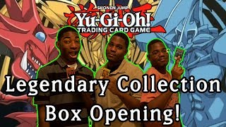 Yu-Gi-Oh! Opening Legendary Collection - Egyptian God Cards!
