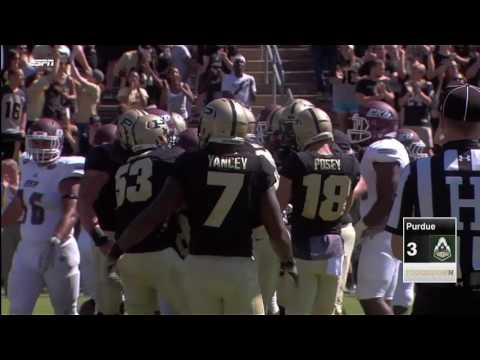 Purdue Scores on Their Opening Drive vs. E. Kentucky