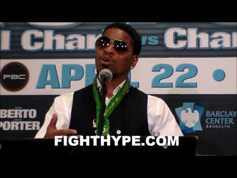 """SHAWN PORTER RATES ANDRE BERTO'S POWER IN """"SNEAKY"""" UPPERCUT; ANALYZES PERFORMANCE IN TKO VICTORY"""