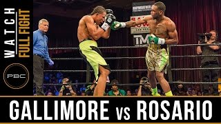 Rosario vs Gallimore FULL FIGHT: April 29, 2017 - PBC on FS1