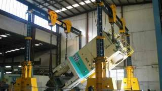 Machinery Movers 200 tonne Presses