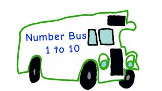 Number Bus 1 to 10 - Counting together