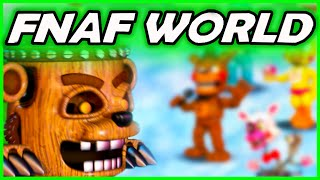 FNAF WORLD Simulator: THE STORY CONTINUES... -  (Five Nights at Freddy's World Gameplay Simulator)