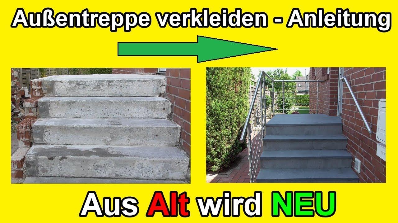 Auãÿentreppe Sanieren – Stein Treppe Mit Naturstein Frostfest