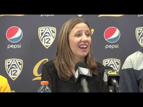 Cal Women's Basketball: UConn Post-Game (12/22/18)