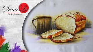Pão Caseiro em Tecido – Sonalupinturas