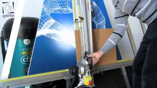 Gladium Universal - Taglia pannelli verticale multifunzione
