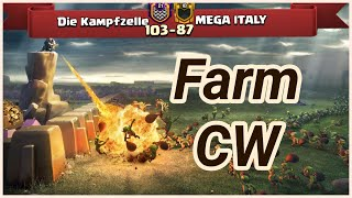 Die Kampfzelle vs MEGA ITALY | war recap | best of 3 star | COC clash of clans 2018
