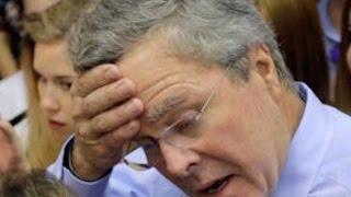 Jeb Bush Hits New Low As Bobby Jindal Passes Him In Iowa