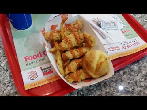 Moroccan sauce tenders chicken at Popeye's Marina Mall Abu Dhabi 27.12.2016