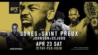 UFC 197: Jones vs Saint Preux - Extended Preview