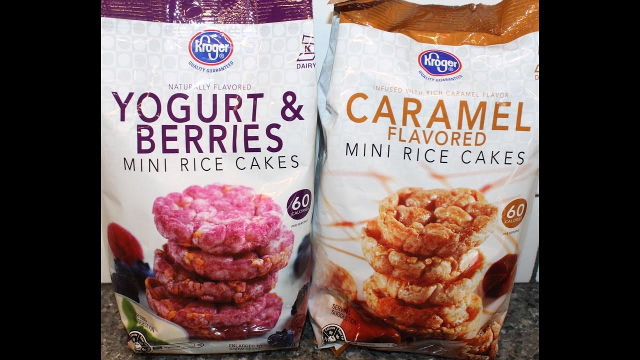 Kroger Yogurt Berries And Caramel Mini Rice Cakes Review