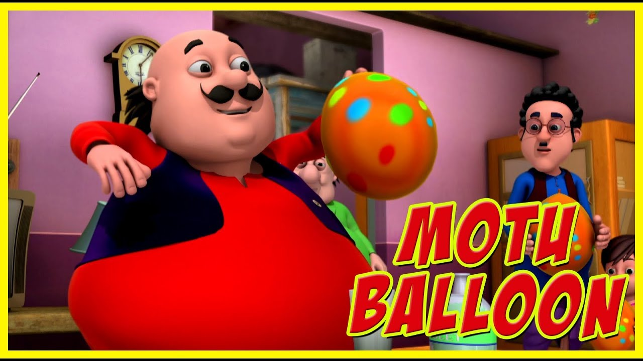 Motu Patlu Motu Balloon Motu Patlu In Hindi Youtube