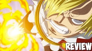 One Piece Opening 20 & Luffy VS Sanji Review: Episode 808 Best this Year! ワンピース 808