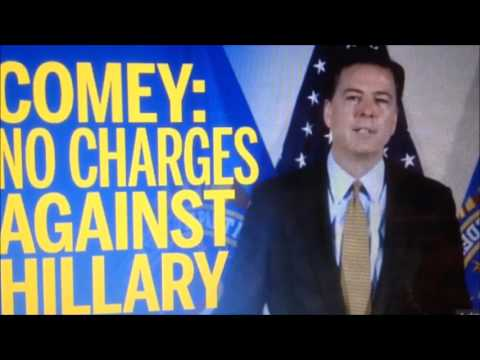 FBI James Comey talks to Congress about the Hillary Clinton Cover-up 7-7-2016