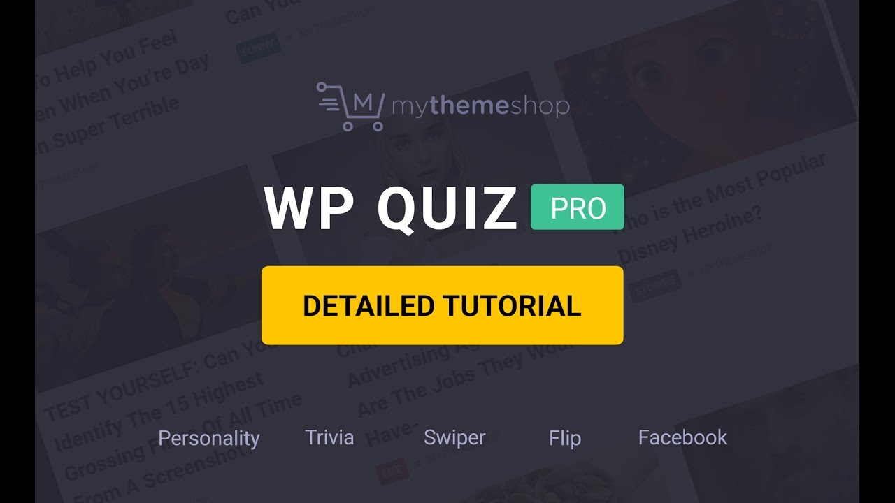 How to Setup and use WP Quiz Pro Plugin? - YouTube