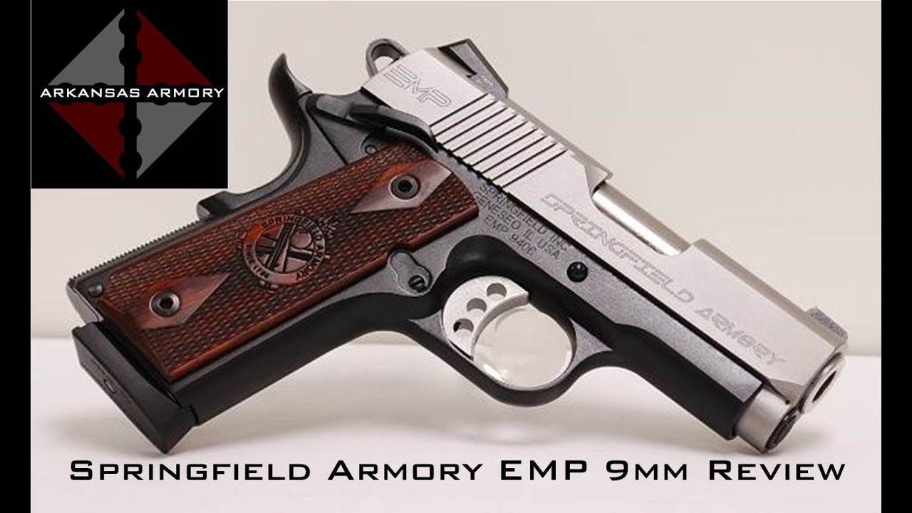 Springfield armory emp 9mm review youtube