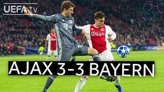 AJAX 3-3 BAYERN #UCL HIGHLIGHTS