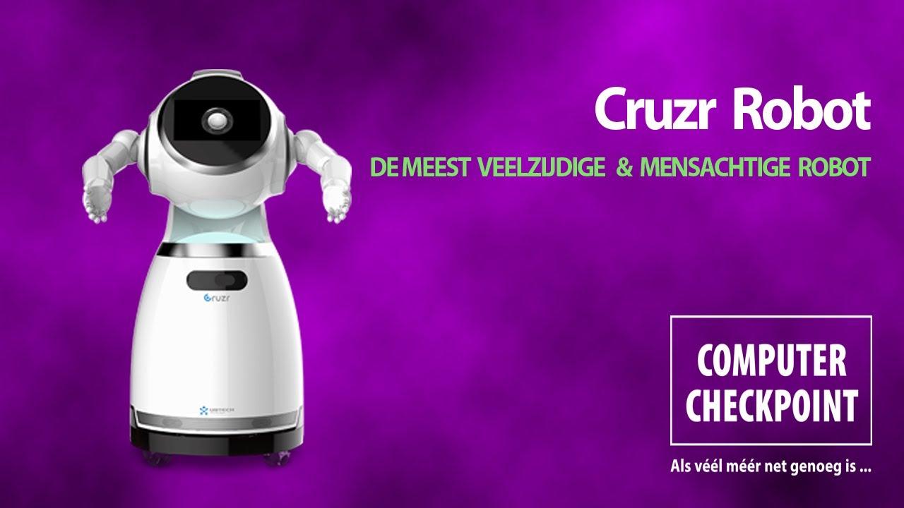 Le robot CRUZR (vidéo)