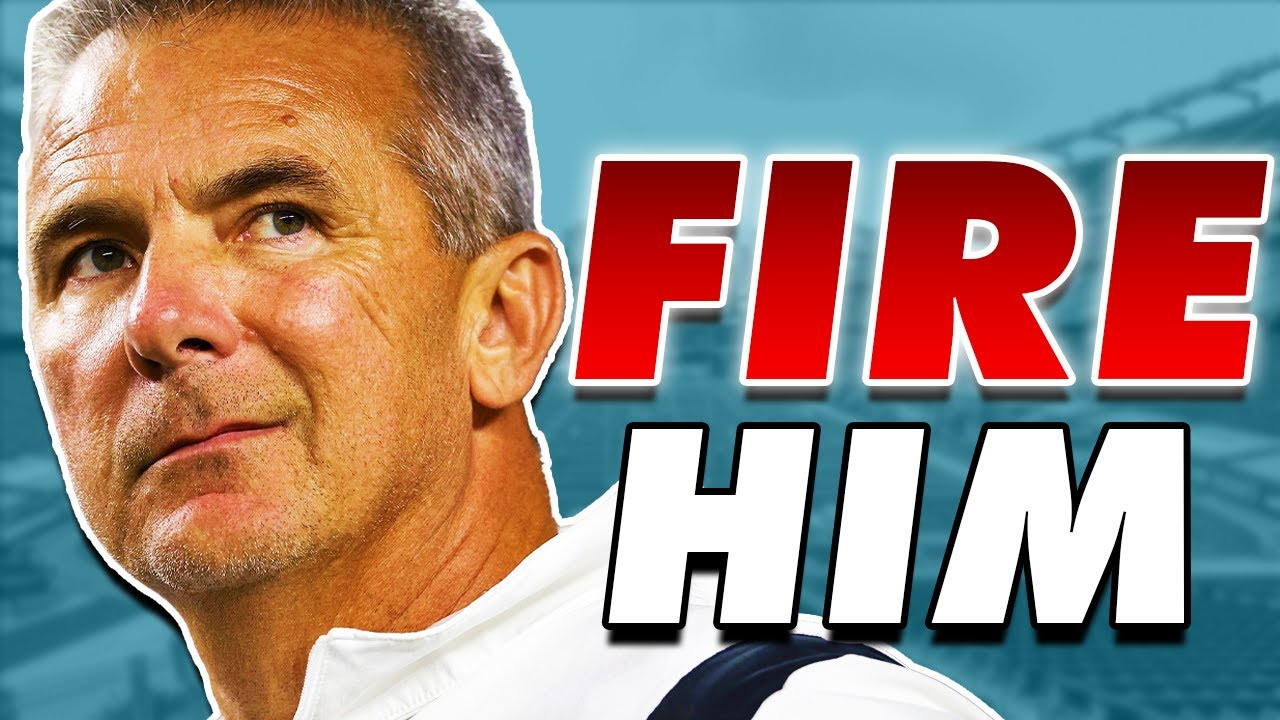 Jacksonville Jaguars' Urban Meyer Shows Why He's On Hot Seat ...
