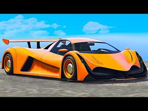 NEW $4,000,000 FASTEST SUPERCAR! (GTA 5 DLC) thumbnail