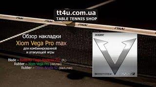 Краткий обзор накладки Xiom Vega Pro MAX