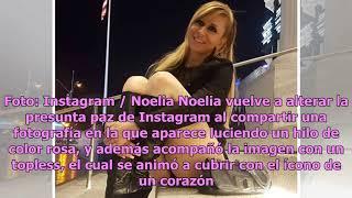 Noelia en su nuevo topless y el hilo rosado que alteraInstagram