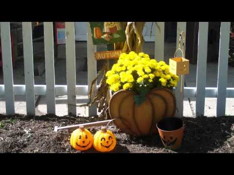 Fall Country Decorating Ideas   Fall Decor Outside   YouTube