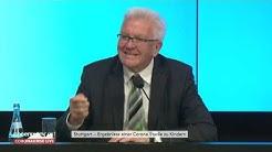 Pressekonferenz mit Ministerpräsident Winfried Kretschmann (Grüne) am 16.06.20