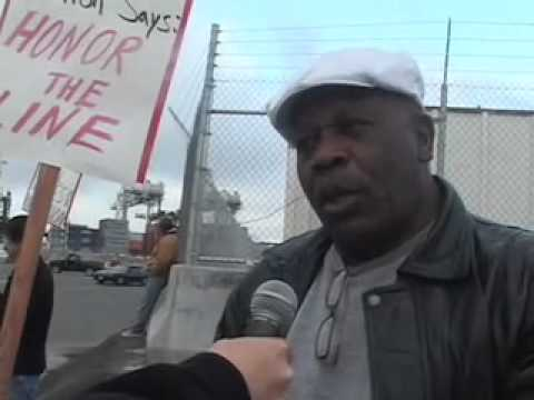 Oakland Port Protest by Teachers & Community