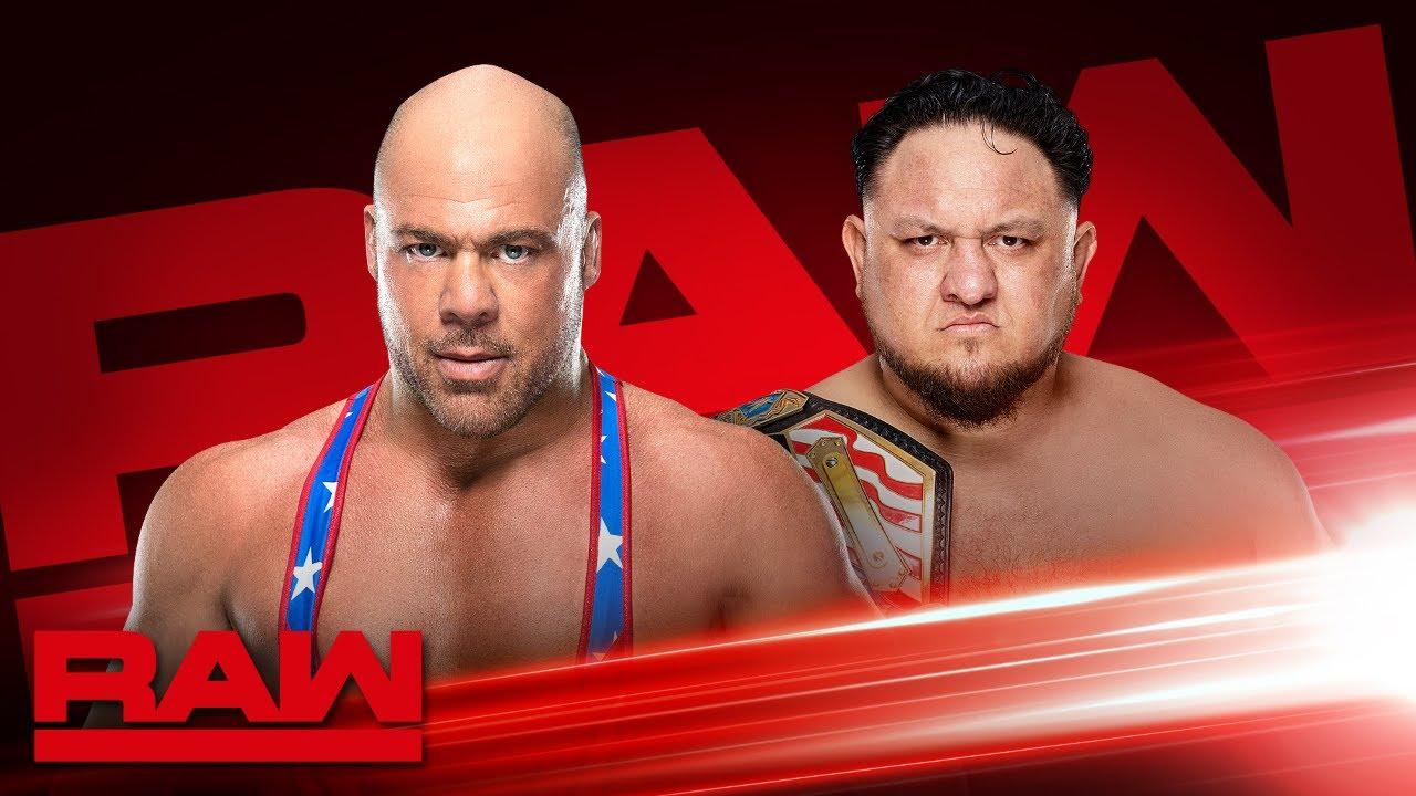 Download Kurt Angle to battle Samoa Joe tonight on Raw: Raw Exclusive, March 25, 2019