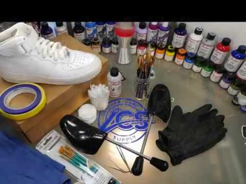 b94abd3d592b How to Make Custom Shoes - Tips and Tricks - Paint Like a Pro - YouTube