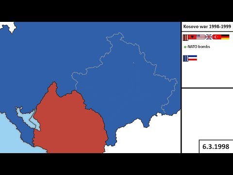Kosovo war 1998-1999 (Every day)