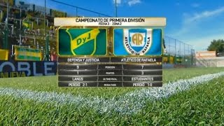 Defensa y Justicia vs Atl. Rafaela full match