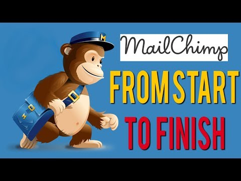 Mailchimp Tutorial 2018 - How To Use Mailchimp From Start to Finish