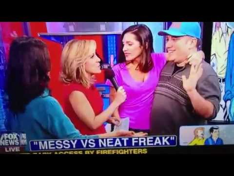 Elisa Jordana and Benjy Bronk on Fox News!! #Benjelisa