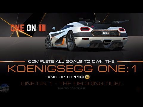 REAL RACING 3 – FLASHBACK EVENTS – ONE ON 1(v7.3) [ALL STAGES]