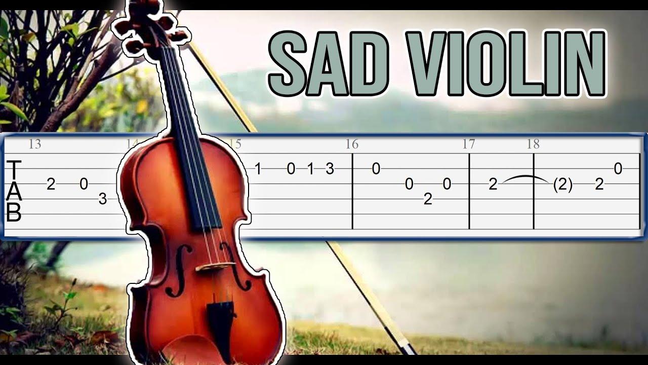 Sad Violin (MEME Song) Guitar Tab Tutorial - YouTube