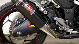 knalpot racing yoshimura usa ninja 250 fi